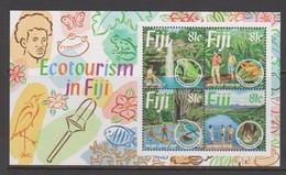 Fiji SG MS 906 1995 Ecotourism ,Miniature Sheet,mint Never Hinged - Fiji (1970-...)