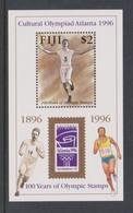 Fiji SG MS 955 1996 Olymphilex ,Miniature Sheet,mint Never Hinged - Fiji (1970-...)