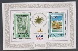 Fiji SG MS 960 1996 Fijian Post ,Miniature Sheet,mint Never Hinged - Fiji (1970-...)