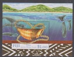 Fiji SG MS 1025 1998 Sperm Whale,Miniature Sheet,mint Never Hinged - Fiji (1970-...)