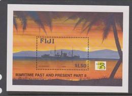 Fiji SG MS 1048 1999 Maritime Past And Present Part II,Miniature Sheet,mint Never Hinged - Fiji (1970-...)