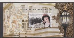 Fiji SG MS 1063 1999 Queen Mother Century ,Miniature Sheet,mint Never Hinged - Fiji (1970-...)