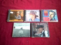 COLLECTION DE 5 ALBUM CD DE COUNTRY  / FOLK ° HANK WILLIAMS + MIKE WILHELM + JERRY JEFF WALKER + THE WALKABOUTS + SAYLO - Country Et Folk