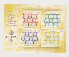 Fiji SG MS 1271 Europa 50th Anniversary ,Miniature Sheet,mint Never Hinged - Fiji (1970-...)