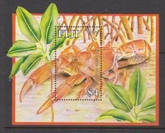 Fiji SG MS 1350 2007 Mangrove Lobster ,Miniature Sheet,mint Never Hinged - Fiji (1970-...)