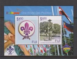 Fiji SG MS 1371 2007 Scouts  ,Miniature Sheet,mint Never Hinged - Fiji (1970-...)
