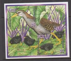 Fiji SG MS 1394 2007 Barred-winged Rail Bird,Miniature Sheet,mint Never Hinged - Fiji (1970-...)