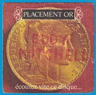DISQUE 45 TOURS PUBLICITAIRE AU LE PRINTEMPS PLACEMENT EN OR - Unclassified