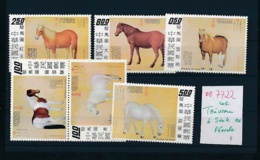 Taiwan Lot Pferde  **   (oo7722   ) Siehe Scan - Taiwan (Formosa)