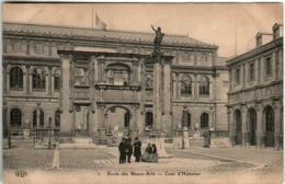 41ir 1606 CPA - PARIS - ECOLE DES BEAUX ARTS - COUR D'HONNEUR - Autres