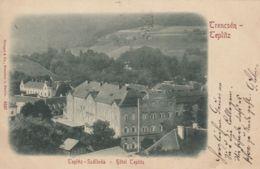 AK - TRENCSEN-TEPLITZ (Trencianske Teplice) - Hotel Teplitz 1900 - Czech Republic