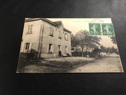 VILLIEU Mairie Et Grande Rue - 1919 Timbrée - Autres Communes