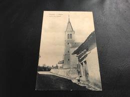VILLIEU L'Eglise - 191? - Tampon 402e Regiment D'Infanterie - Autres Communes