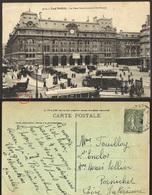 CPA-FRANCE-  PARIS - TOUT PARIS - LA GARE SAINT LAZARE - COTE ROME - Métro Parisien, Gares