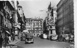 AK 0204  Wien - Graben ( Pestsäule / Viele Autos ( VW Käfer ) Um 1950 - PKW