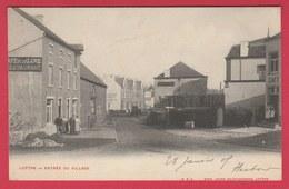 Luttre - Entrée Du Village - 1901 ( Voir Verso ) - Pont-à-Celles