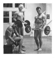 PHOTO HOMME EN MAILLOT DE BAIN CULTURISME CULTURISTE  13 X 12.50 CM - Sports