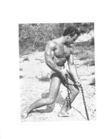 PHOTO HOMME EN MAILLOT DE BAIN CULTURISME CULTURISTE  15 X 12 CM - Sports