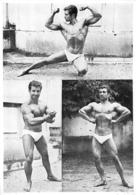 PHOTO HOMME EN MAILLOT DE BAIN CULTURISME CULTURISTE  20.50 X 14.50 CM - Sports