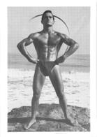 PHOTO HOMME EN MAILLOT DE BAIN CULTURISME CULTURISTE  13 X 9.50 CM - Sports