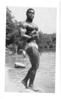 PHOTO HOMME EN MAILLOT DE BAIN CULTURISME CULTURISTE  15.50 X 9.50 CM - Sports