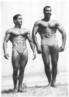 PHOTO HOMME EN MAILLOT DE BAIN CULTURISME CULTURISTE  23.50 X 17 CM - Sports