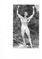 PHOTO HOMME EN MAILLOT DE BAIN CULTURISME CULTURISTE 18.50 X 13 CM - Sport