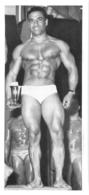 PHOTO HOMME EN MAILLOT DE BAIN CULTURISME CULTURISTE 15 X 7 CM - Sports