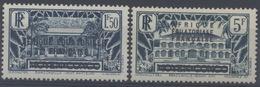 France, A.E.F Afrique Equatoriale Française : N° 13 Et 14 X Neuf Avec Trace De Charnière Année 1936 - Neufs