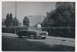 OLD CAR  Mercedes Cabriolet, Sport, Voiture, Auto Automobilia,  Old Photo - Cars