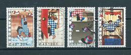 1977 Netherlands Complete Set Child Welfare Used/gebruikt/oblitere - Usati