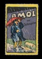 Hamburg: Amol Bei Schnupfen Reklamemarke - Cinderellas