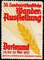 Berlin: 33. Wanderausstellung Der Landwirtschaft Reklamemarke - Cinderellas