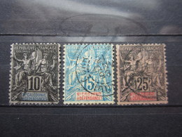 VEND TIMBRES DE NOUVELLE-CALEDONIE N° 45 + 46 + 48 !!! - New Caledonia