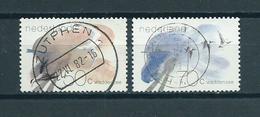 1982 Netherlands Complete Set Birds,oiseaux,Waddenzee Used/gebruikt/oblitere - Oblitérés