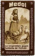 Hamburg: Medol Gegen Kalkbeine Der Hühner Reklamemarke - Vignetten (Erinnophilie)