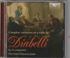 Cd  DIABELLI  Complete Variations Piano : Paolo Vincenzi  2 CD    Etat: TTB Port 140 GR - Classique