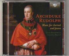 Cd  ARCHDUKE RUDOLPH  Music For Clarinet And Piano   Etat: TTB Port 110 GR - Classique