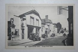 18 : Saint Satur - Garage Louis Vatan  ( Voitures ) - Saint-Satur