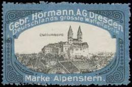 Dresden: Schloß Quedlinburg Reklamemarke - Erinnofilie