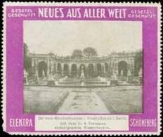 Berlin: Der Neue Märchenbrunnen In Friedrichshain Reklamemarke - Cinderellas