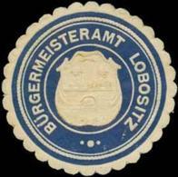Lobositz: Bürgermeisteramt Lobositz Siegelmarke - Cinderellas