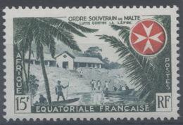 France, A.E.F Afrique Equatoriale Française : N° 237 X Neuf Avec Trace De Charnière Année 1957 - A.E.F. (1936-1958)