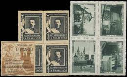 Prag Reklamemarken Sammlung 1921-35 - Cinderellas