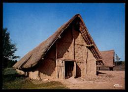 21 - Merceuil - Beaune Aire De Beaune Tailly Merceuil Autoroute A6 Archeodrome Hutte Néolithique #08418 - Altri Comuni
