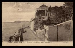 13 - Marseille - 122 La Corniche Le Palace Hotel Et Les Iles #08162 - Château D'If, Frioul, Iles ...
