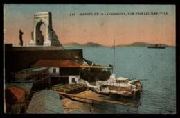 13 - Marseille - La Corniche Vue Vers Les Iles #08155 - Château D'If, Frioul, Iles ...
