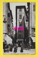 CPA  06 NICE ֎ Place Rossetti - Angle Rue Mascoinat - Rue Du Pont Vieux ֎ Très Peu Commune - Nice