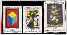 Liechtenstein 1186/88**  Musée D'Art 2000 Tableaux  MNH - Liechtenstein