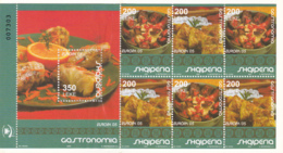 Albanie - Albania - 2005 - Europa Cept - Gastronomy - Carnet - C2773a - 2005